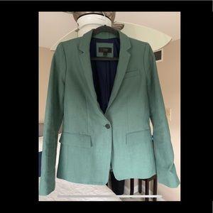 J Crew Green blazer